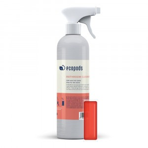 Ecopods Verstuiver Aluminium Sanireiniger (500 ml) inclusief capsule