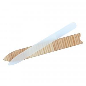 Anaé Glazen Nagelvijl Groot (in houten doosje)