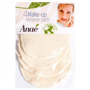 Anaé Wasbare Make-Up Remover Pads (4 stuks)