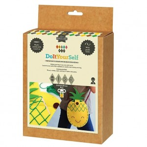 aPunt Craft Kit Naaiset Tas - Ananas