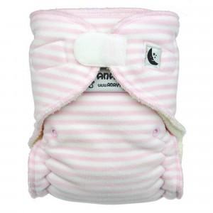 Anavy Nachtluier XL met Velcro Roze Gestreept (6-18 kg)