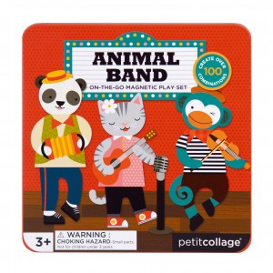Petit Collage Magneetpuzzel Animal Band