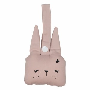 Fabelab Rammelaar Bunny Mauve
