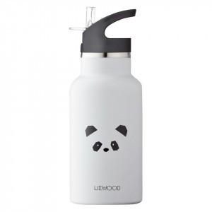 Liewood Thermische Drinkbus Panda Grijs