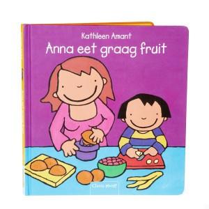Clavis Leesboekje Anna eet graag fruit
