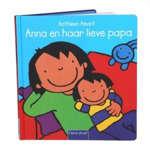 Clavis Leesboekje Anna en haar lieve papa