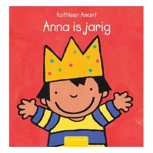 Clavis Leesboekje Anna is jarig