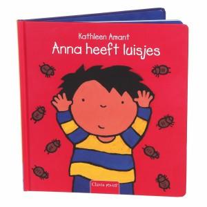 Clavis Leesboekje Anna heeft luisjes