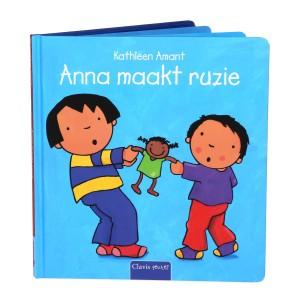 Clavis Leesboekje Anna maakt ruzie