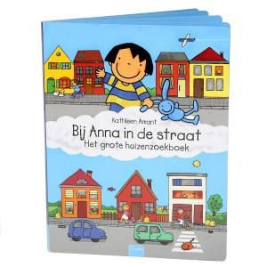 Clavis Zoekboek Bij Anna in de straat