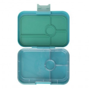 Yumbox Tapas met 4 vakken Antibes Blue met Tray Blanco