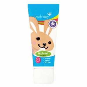 Brush Baby Baby en Peuter Tandpasta appelmint 50 ml 0-3 Jaar