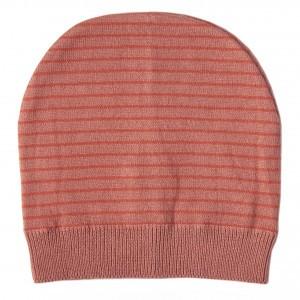 Mundo Melocoton Muts Organic Knitwear Stripes La Linea Blush (Baby)
