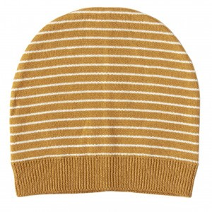 Mundo Melocoton Muts Organic Knitwear Stripes La Linea Cinnamon (Kind)