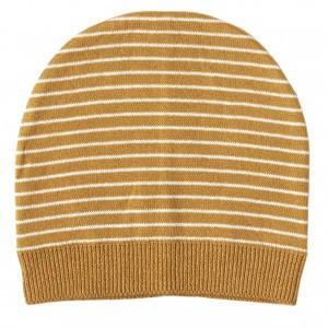 Mundo Melocoton Muts Organic Knitwear Stripes La Linea Cinnamon (Baby)