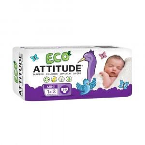 Attitude Baby Care Luier maat 1-2 (36 stuks)