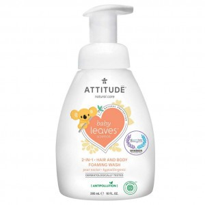 Attitude Baby Leaves 2-in-1 Shampoo & Body Wash Pear Nectar (295 ml)