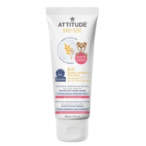 Attitude Sensitive Skin 2-in-1 Shampoo & Body Wash (200 ml)