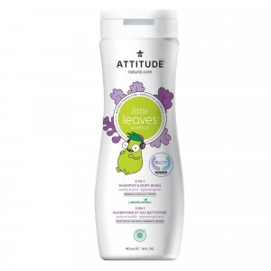 Attitude Little Leaves 2-in-1 Shampoo & Body Wash Vanille & Peer (473 ml)