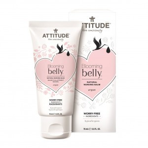 Attitude Blooming Belly Natural Voedende Balsem