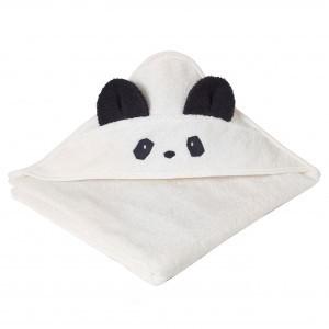 Liewood Augusta Badcape Panda Creme de la creme