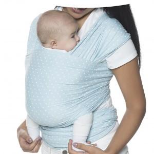 Ergobaby Baby Wrap Aura Baby Blauw