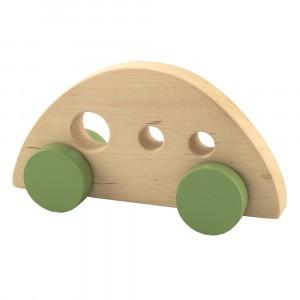 Pinch Toys Houten Duwfiguur Maxi 70's Auto