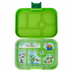 Yumbox Original Avocado Green met Tray California