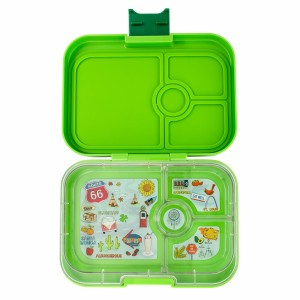 Yumbox Panino Avocado Green met Tray Route 66