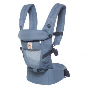 Ergobaby Babydraagzak 3P Adapt Cool Air Mesh Oxford Blauw