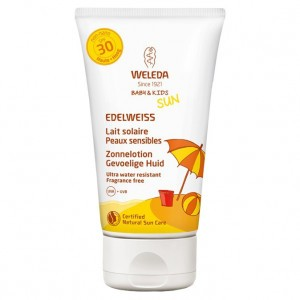 Weleda Edelweiss Zonnelotion Baby & Kids SPF30 150 ml
