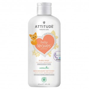 Attitude Baby Leaves Bubbelbad Pear Nectar (473 ml)
