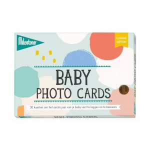 Milestone Baby Cards Grafische Set