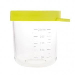 Beaba Glazen Bewaarpotje Groen (250 ml)