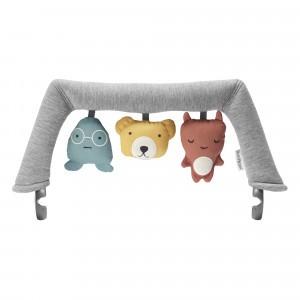 BabyBjörn Speelgoed voor Wipstoeltje - Knuffelvriendjes
