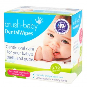 Brush Baby Dental Wipes 28 stuks