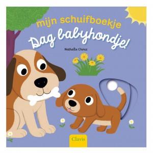 Clavis Mijn schuifboekje Dag babyhondje!