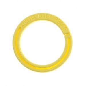 Kurtis Ring voor Autostoel en Kinderwagen Gordijntje Geel