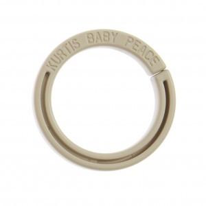 Kurtis Ring voor Autostoel en Kinderwagen Gordijntje Grijs