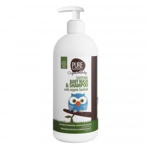 Pure Beginnings Soothing Baby Wash & Shampoo met baobab (500 ml)