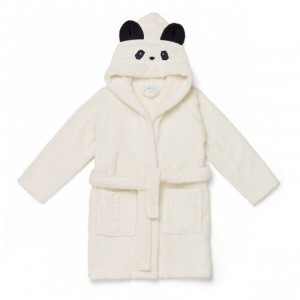 Liewood Badjas Panda Creme de la creme 5-6 jaar