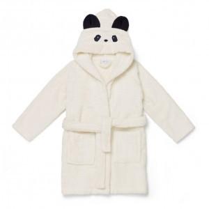 Liewood Badjas Panda Creme de la creme 1-2 jaar
