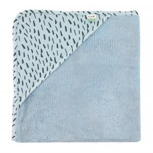 Trixie Badcape XL Blue Meadow