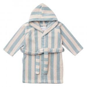 Liewood Badjas Stripe Sea Blue/Sandy
