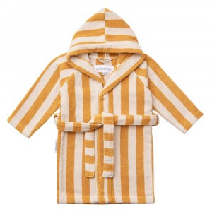 Liewood Badjas Stripe Yellow Mellow/Sandy