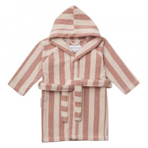 Liewood Badjas Stripe Rose/Sandy