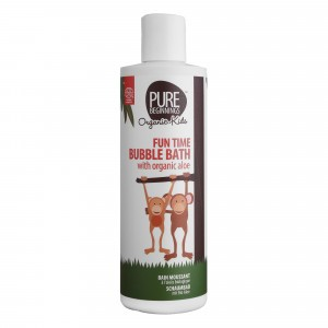 Pure Beginnings Fun Time Badschuim met aloë (250 ml)