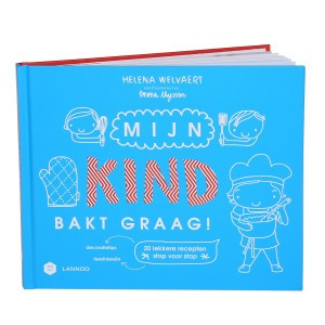 Lannoo Boek Mama Baas 'Mijn kind bakt graag'