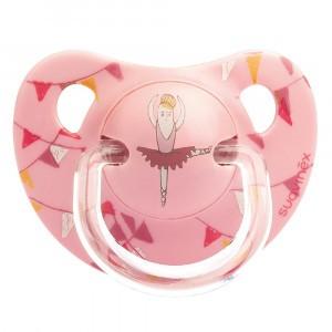 Suavinex Fopspeen Anatomisch Silicone +6 maand Ballerina