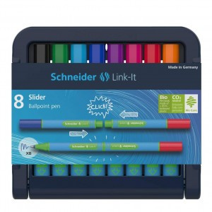 Schneider Link-It Slider balpen 1 mm (8 kleuren)